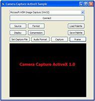 Camera Capture ActiveX screenshot