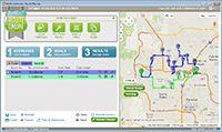 Free Route Planner MyRouteOnline screenshot