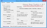 Nexus Root Toolkit screenshot