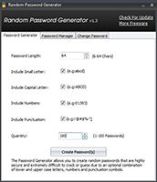 Random Password Generator screenshot