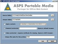 ArtistScope Portable Media screenshot