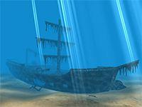 Pirates Ship 3D Screensaver screenshot