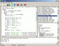 DBF Script screenshot