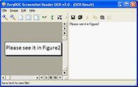 Screenshot OCR screenshot