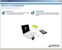 FarStone DriveClone screenshot