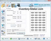 Manufacturing Barcode Labels Software screenshot