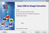 Easy CAD to SVG Converter screenshot