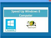 Speed Up Windows 8 Computer screenshot