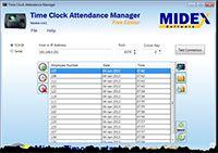 Time Clock Attendance Manager screenshot