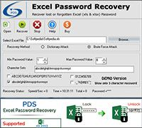 Excel Password Recovery screenshot
