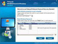 Bypass Windows Vista Password screenshot