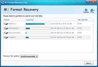 M3 Format Recovery Free screenshot