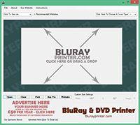 Bluray, DVD, Cover Printer Freeware screenshot