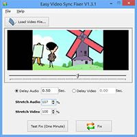Video Audio Sync Fixer screenshot