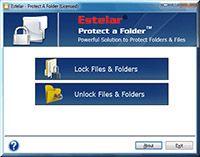 Folder Protect Software screenshot