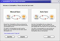 DesktopMirror for Lotus Notes Outlook screenshot