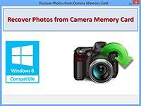 Recover Photos from Camera Memory Card screenshot