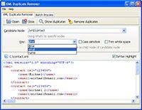 XML Duplicate Remover screenshot