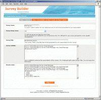 Survey Builder for X-Cart  screenshot