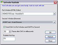 Softvoile Rubilnik screenshot