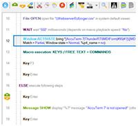 Macro Toolworks, Free Edition screenshot