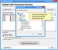 PDF Attachment Extract screenshot