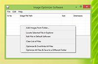 Image Optimizer Software screenshot