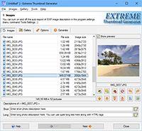 Extreme Thumbnail Generator screenshot