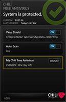 Chili Free Antivirus screenshot