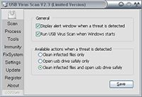 USB Virus Scan screenshot