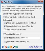 Auto Mute screenshot