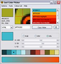 Just Color Picker screenshot
