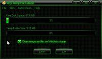 Easy Temp File Cleaner screenshot