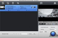 WinX AVCHD Video Converter for Mac screenshot