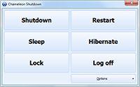 Chameleon Shutdown screenshot