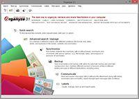 Organyze screenshot
