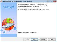 Lazesoft Disk Image & Clone Home screenshot