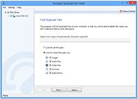 Auslogics Duplicate File Finder screenshot