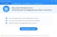 360 Document Protector screenshot