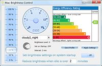 Mac Brightness Control screenshot