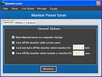 Montor Power Saver screenshot