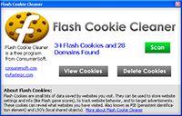 Flash Cookie Cleaner screenshot