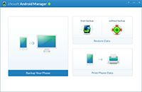 Jihosoft Android Manager screenshot