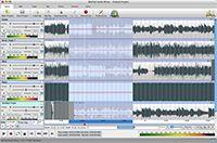 MixPad Free Music Mixer for Mac screenshot