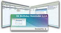 SS Birthday Reminder screenshot