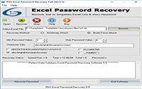 XLS Sheet Password Recovery screenshot