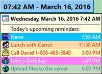 DS Clock screenshot