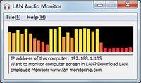 LAN Audio Monitor screenshot