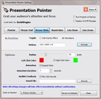 Presentation Pointer screenshot