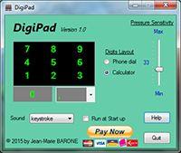 DigiPad screenshot